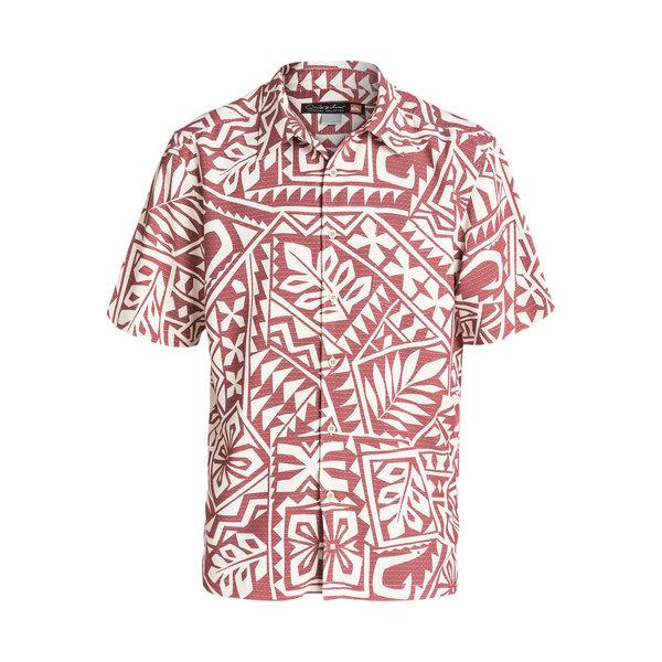 Quiksilver Men's North End Short Sleeve Shirt Burnt Henna Sale $52.50 SKU: 16577256 ID# QMWT03093RRJ0M UPC# 888701427728 :
