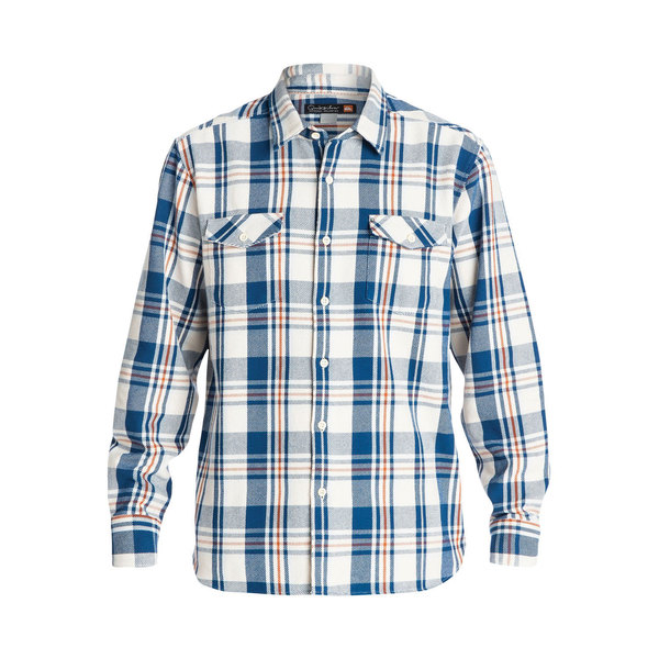 Quiksilver Men's Cedar Island Long Sleeve Shirt Creme Sale $56.25 SKU: 16577512 ID# QMWT03103WCL0XL UPC# 888701417989 :
