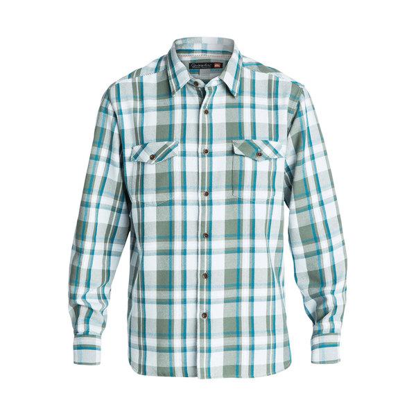 Quiksilver Men's Cedar Island Long Sleeve Shirt Wreath Sale $56.25 SKU: 16577538 ID# QMWT03103GNB0M UPC# 888701423737 :