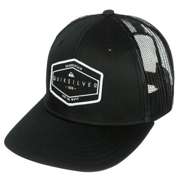 b69b8468135 ... italy upc 888701171690 product image for quiksilver mens forever trucker  hat black upcitemdb bda22 e168c