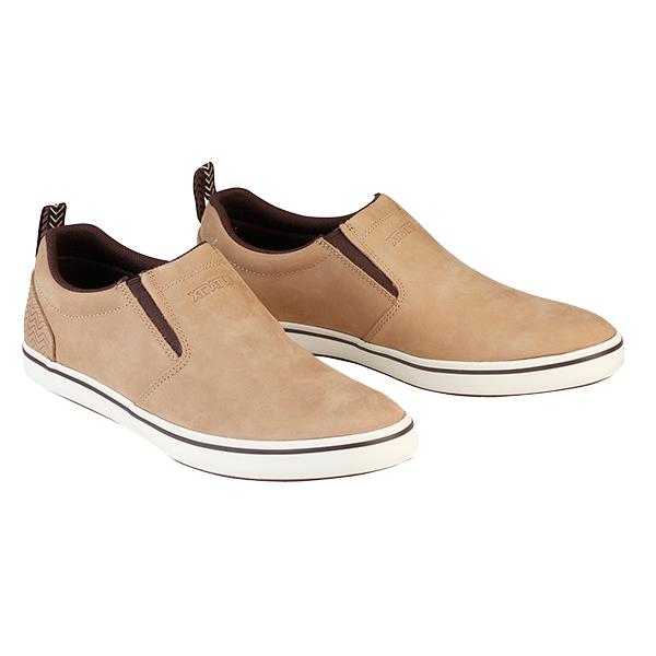 Xtratuf Men's Sharkbyte Slip-On Shoes Tan Sale $55.99 SKU: 16594103 ID# 22503-59-22 UPC# 86189000987 :