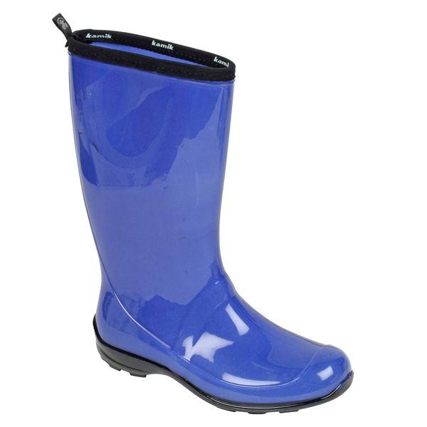 New KAMIK Women39s Olivia Tall Rain Boots Berry