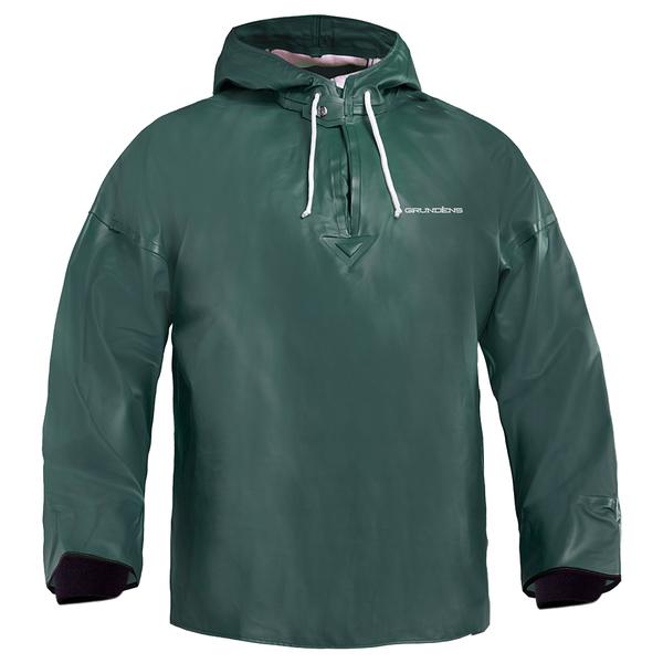Grundens Men's Brigg 34 Anorak Pullover Green