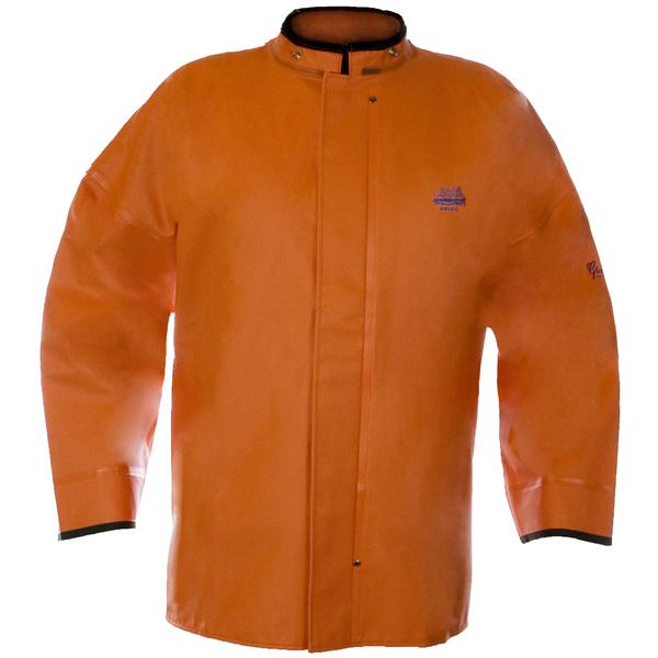 Grundens Men's Brigg 411 Jacket Orange
