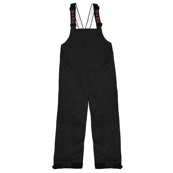 Grundens Men's Deck-Boss Bibs Black