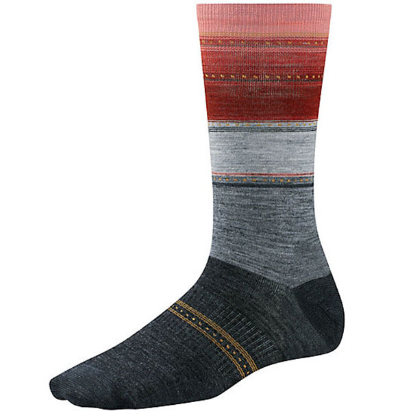 Smartwool Women's Sulawesi Stripe Taupe/moab Rust