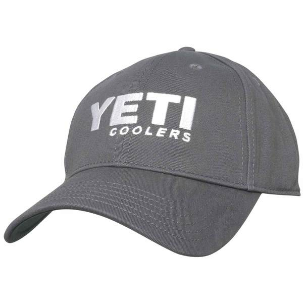 YETI Men's Solid Cap Gunmetal/white