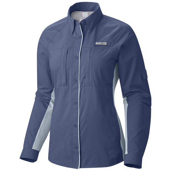 Columbia women 39 s pfg ultimate catch zero long sleeve shirt for West marine fishing shirts