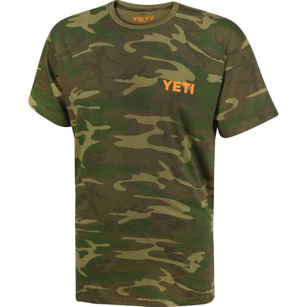 Yeti Built For The Wild Short Sleeve Tee Camo