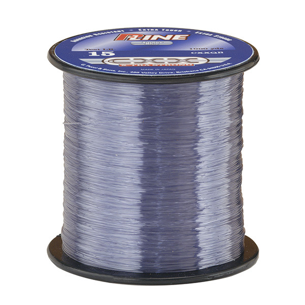 P line cxx x tra strong monofilament fishing line smoke for Pline fishing line