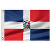 Dominican Republic Courtesy Flag, 12