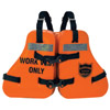 Type V Vinyl-Dipped Work Life Jacket