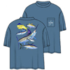 Men's Atlantic Big Game Collage Short-Sleeve Tee