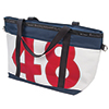Large Recycled Sailcloth Zip Tote