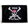 Fish Or Cut Bait Pirate Flag, 24