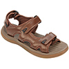 Men's Performance Boat Sandals, Chocolate, 8