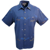Men's Fish Stitch Short-Sleeve Shirt