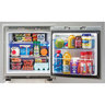 Universal Voltage Marine Refrigerator, Stainless Steel, 3 Cubic ft.