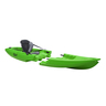 Tequila! GTX Solo Modular Sit-On-Top Kayak, Lime Green