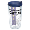 Good To Be Captain Tumbler, 16oz.
