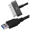 USB Type-A to Apple 30-pin Adapter Cable