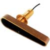 CPT-80 Bronze Through Hull CHIRP Dragonfly Transducer