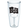 Pirate Flag Goblet Tumbler
