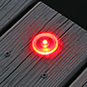 Solar Dock and Deck Dots, Red, 4-Pack