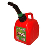 CARB Gas Square Jerry Can with CRC, 1 1/4 Gallon