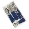 20-Piece Blue Nautical Flatware
