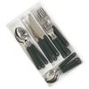 20-Piece Green Nautical Flatware