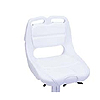 Compact Molded Seat - White