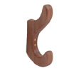 Teak Clothing Hook