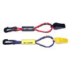 Safety Whistle on Floating Lanyard, Yellow/Purple