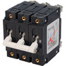 C-Series White Toggle Circuit Breaker, Triple Pole, 60A
