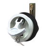 Surface Mount Lock & Latch For Smooth and Carpeted Surface, White