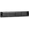Flush Louvered Vent, White, 2-3/4