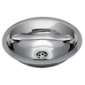 Half Oval Stainless Steel Sink