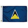 St Lucia Courtesy Flag, 12