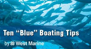 10 Blue Boating Tips