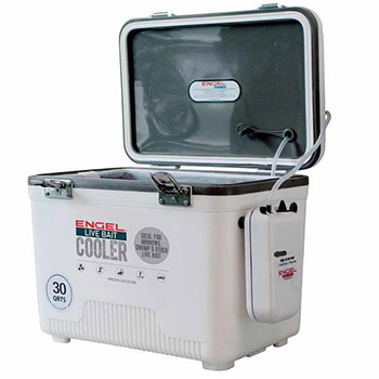 Engel 30 quart live bait cooler