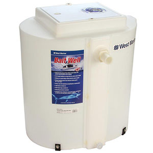 West Marine 22 gallon bait tank