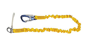 yellow safety tether