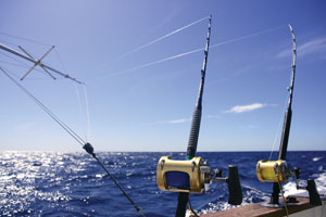 Selecting outriggers west marine for Deep sea fishing bay area
