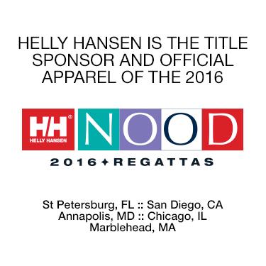 Helly Hansen is the Official Sponser of NOOD Regattas