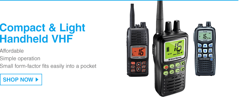 Compact and Light Handheld VHF