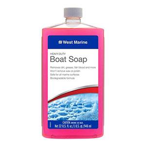 West Marine heavy duty boat soap