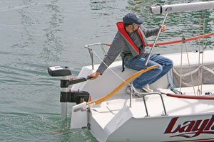 Electric alternatives gas and diesel propulsion for your for Sailboat outboard motor size calculator