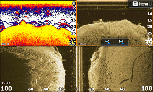 Find out about high frequency scanning sonar for catching for How does a fish finder work