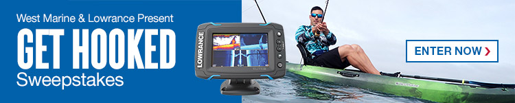 West Marine & Lowrance Present Get Hooked Sweepstakes